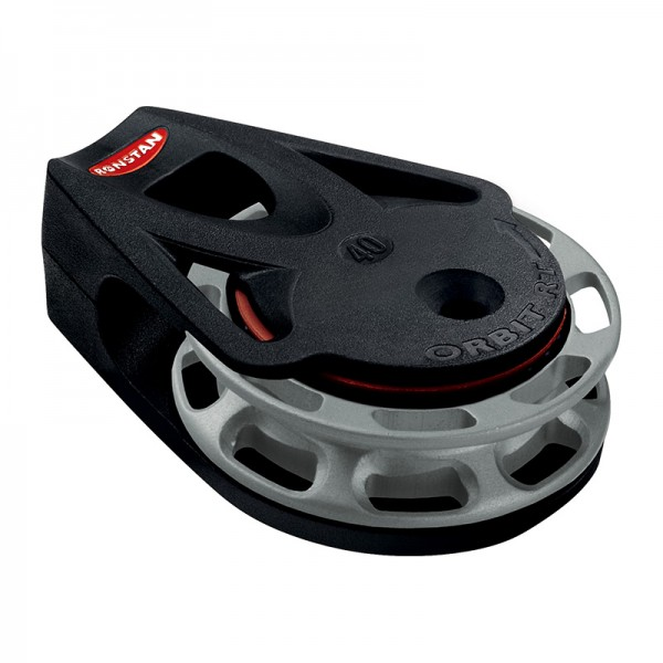 Ronstan Series 40 RT Orbit Block™, Auto, liegend, gegen Uhrzeigersinn