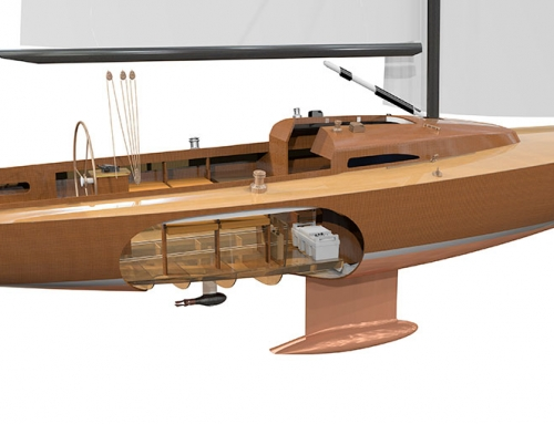 Torqeedo Cruise FP (fixed pod) neu im Tactix Bootszubehör Berlin Shop